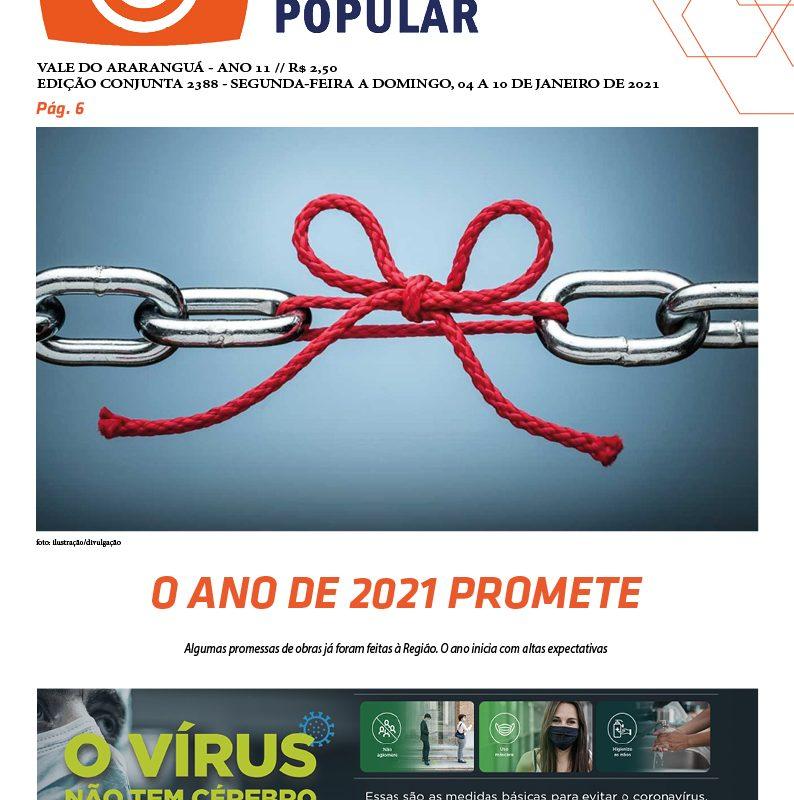 Edição 2388 – 04 à 10-01-2021 / JORNAL ENFOQUE POPULAR