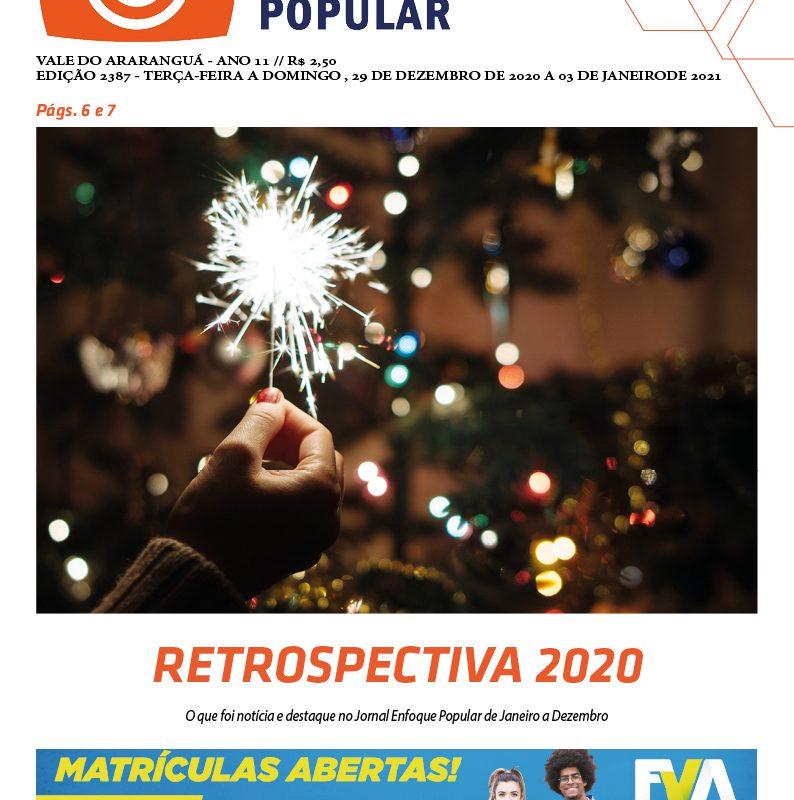 Edição 2387 – 29-12-2020 à 03-01-2021 / JORNAL ENFOQUE POPULAR