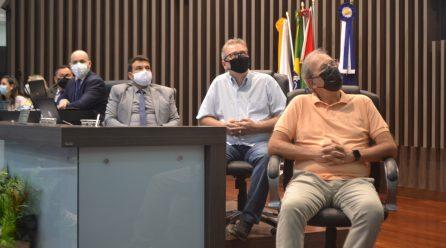 Estrutura é apresentada pela Secretaria de Saúde de Araranguá em sessão da Câmara