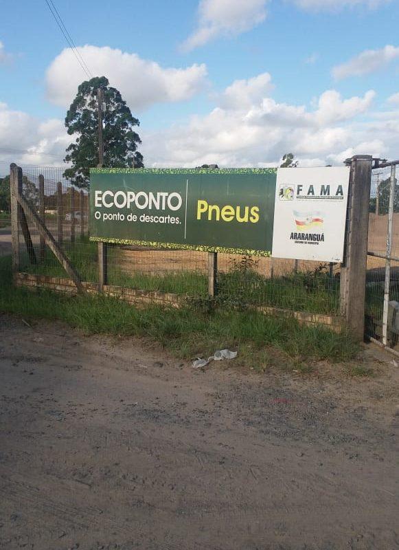 Ecoponto recebe lixo incomum e preserva meio ambiente