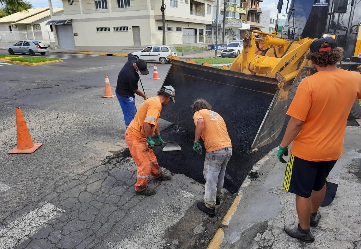 Obras embelezam Araranguá em semana de aniversário